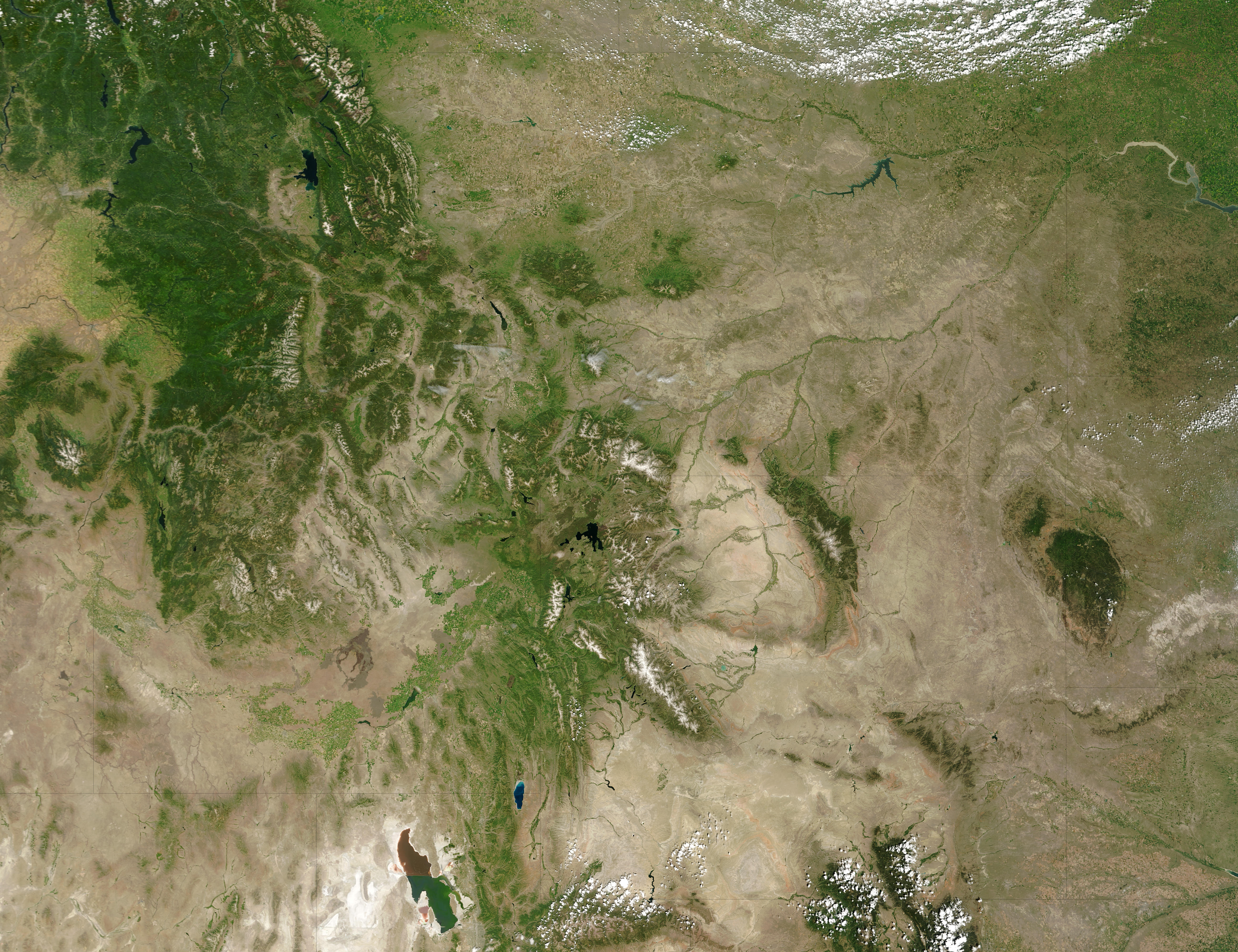 Montana, Idaho, and Wyoming - related image preview