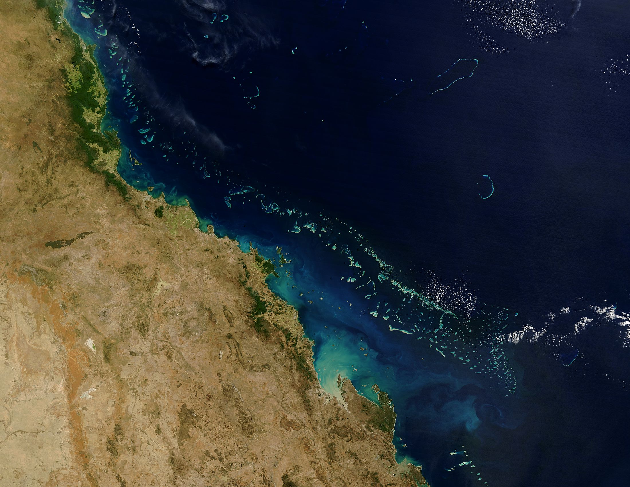 The Great Barrier Reef off Australia - related image preview