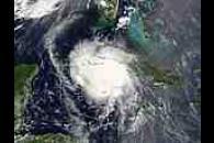 Hurricane Charley (03L) off Cuba