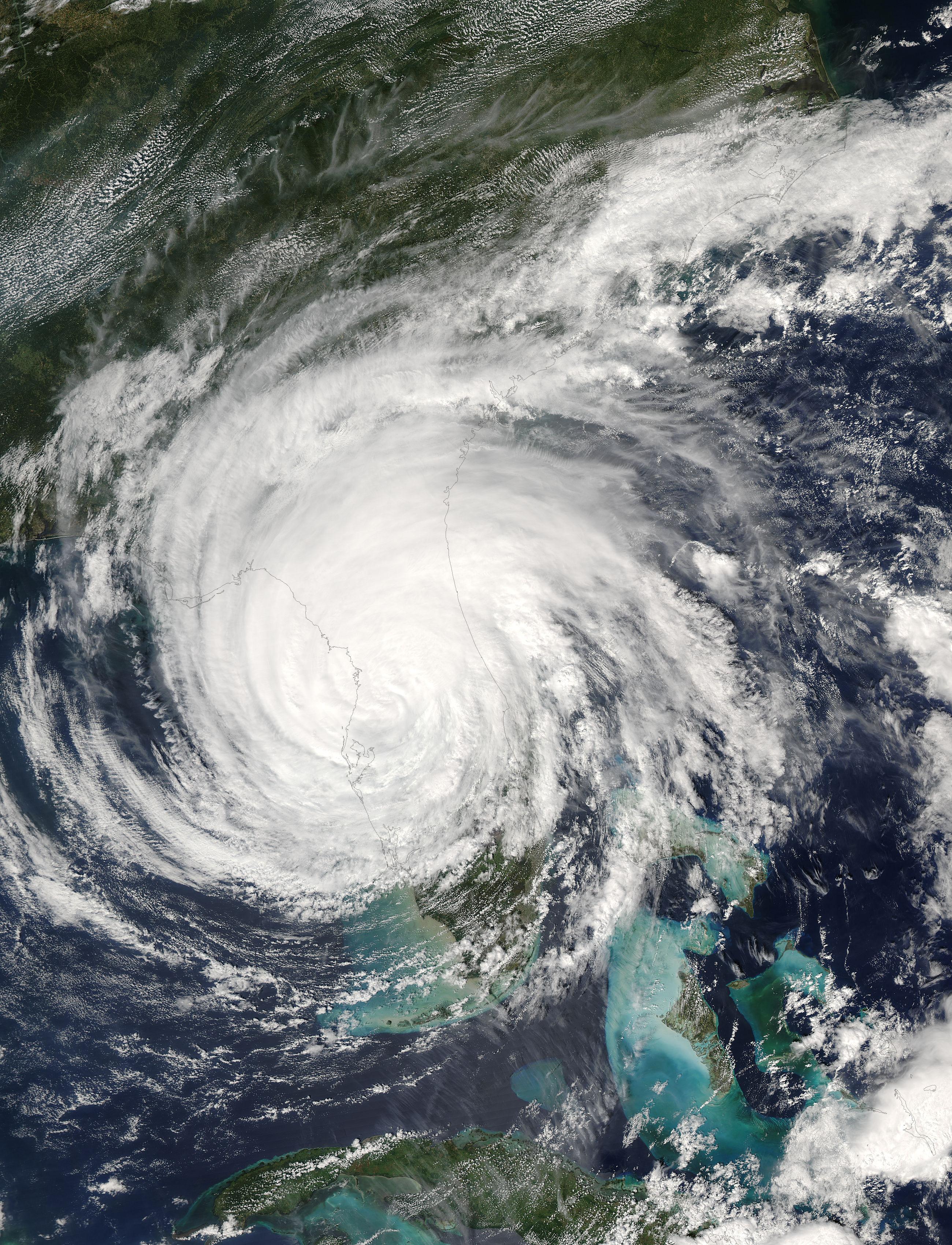 NASA Visible Earth: Hurricane Jeanne (11L) over Florida
