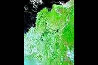 Northern Colombia (before floods, false color)