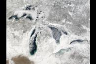 Freezing Great Lakes Region