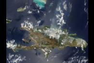 Fires in the Dominican Republic and Haiti