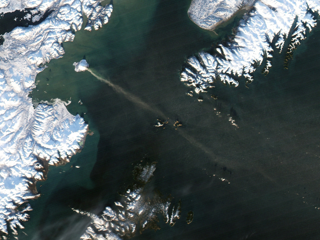 Eruption on Augustine Island, Alaska - related image preview