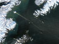 Eruption on Augustine Island, Alaska - selected image