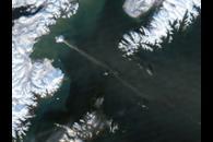 Eruption on Augustine Island, Alaska