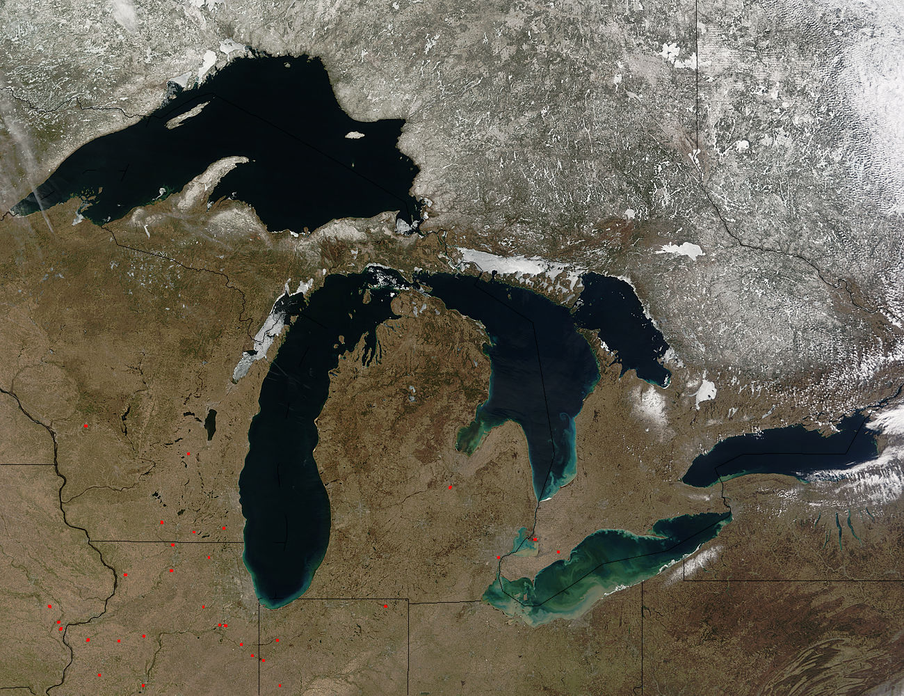 The Great Lakes - related image preview