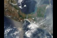 Fires in Mexico and Central America