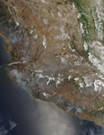 Fires in Mexico's Sierra Madre del Sur - selected image