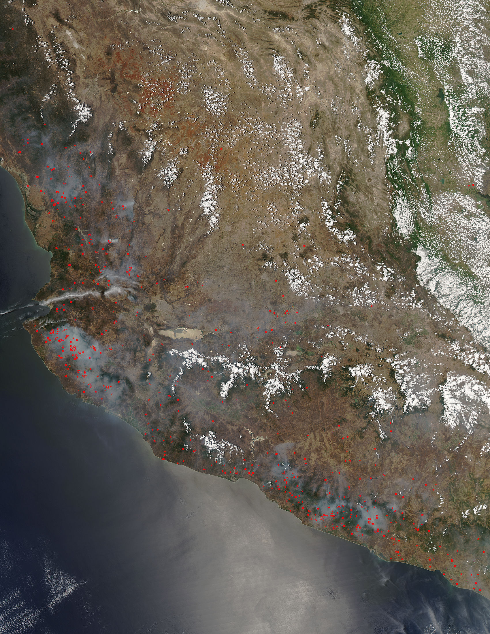 Fires in Mexico's Sierra Madre del Sur - related image preview