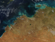 Fires in Northern Australia - selected image