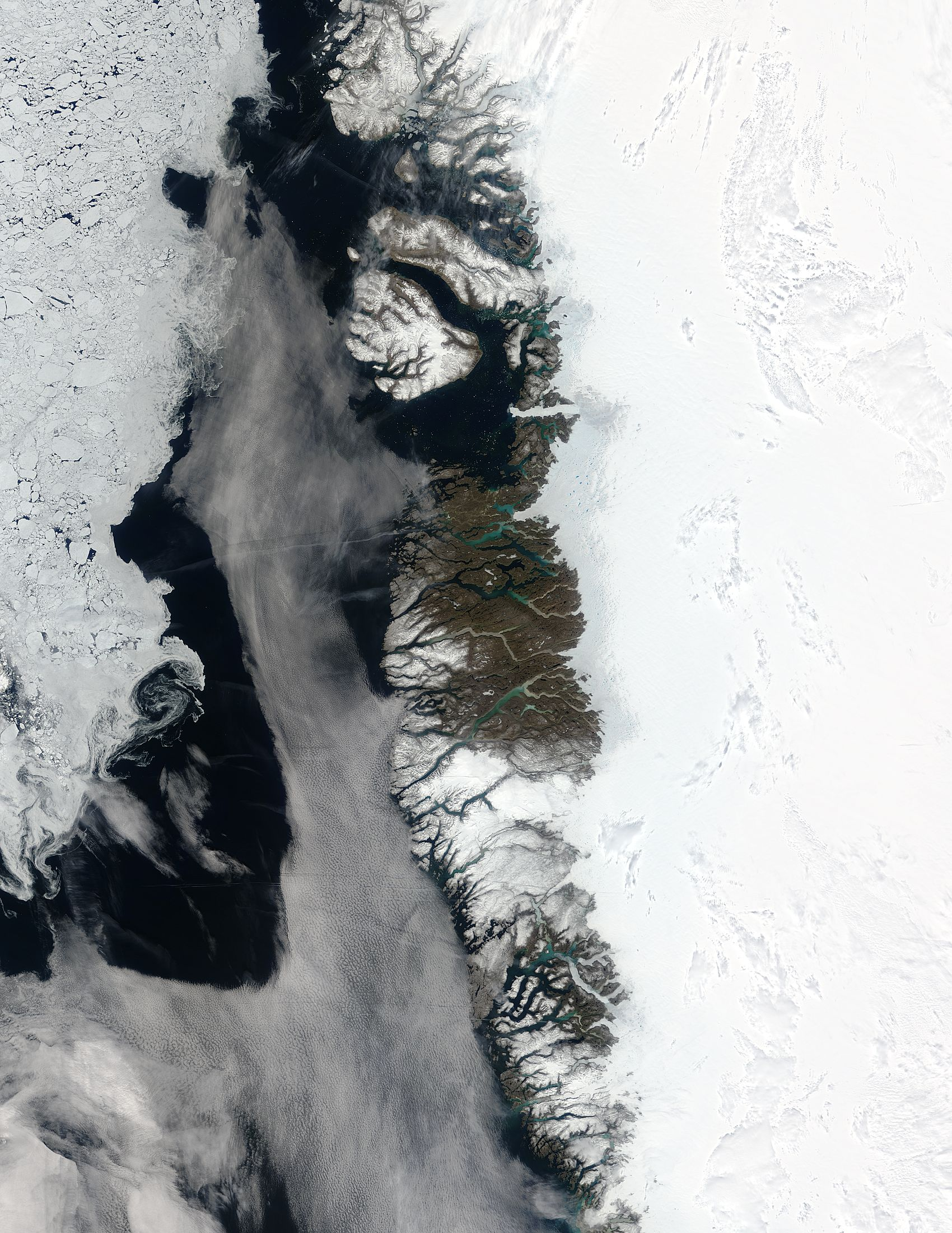 Meltwater Ponds, Greenland - related image preview