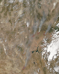 Fires in the Southwestern United States - selected image