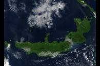 Eruptions of Ulawun, Langila, and Rabaul volcanoes, New Britain