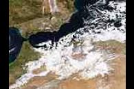 Snow across Algeria and Morocco