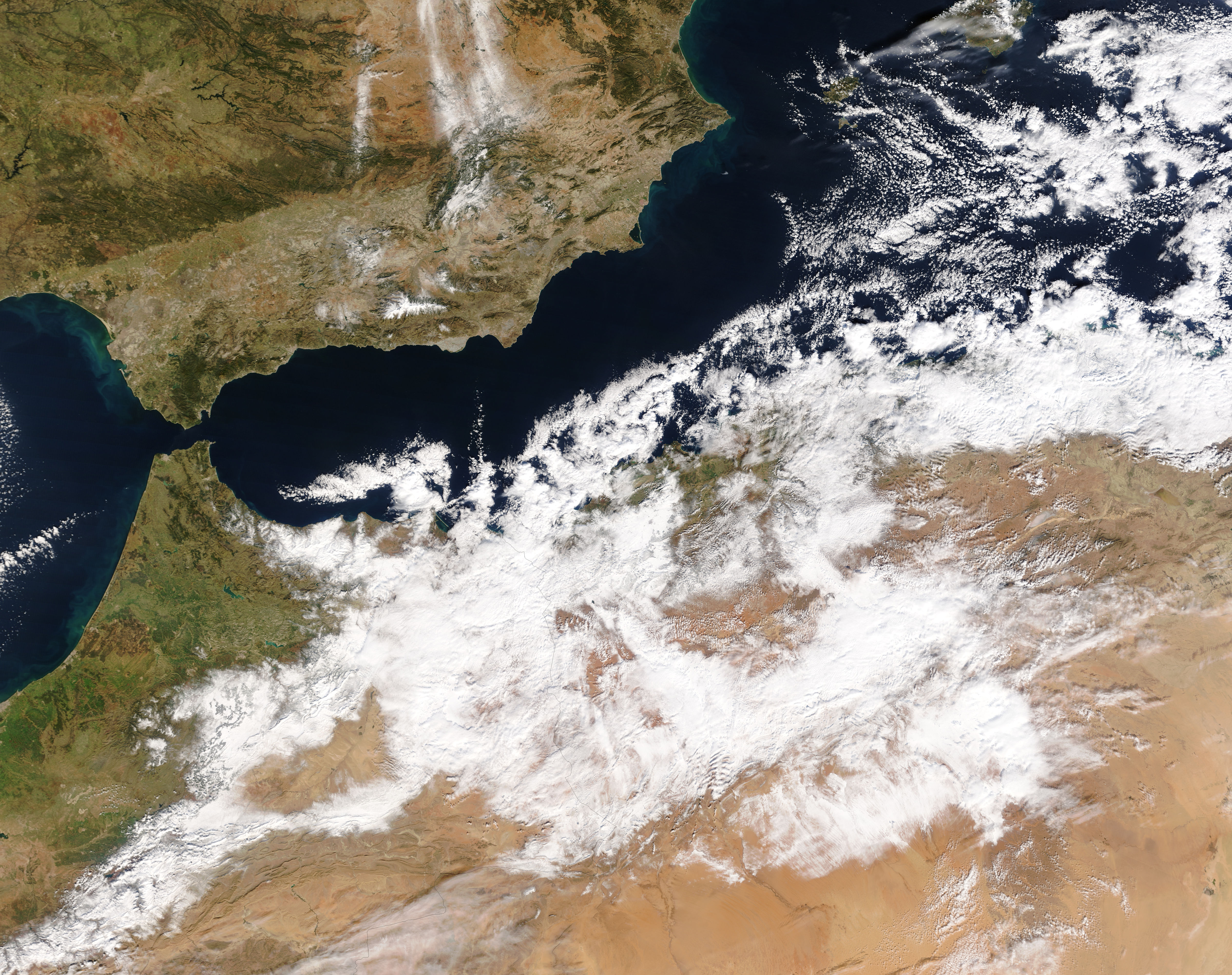 Snow across Algeria and Morocco - related image preview