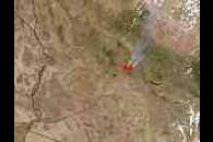 Cave Creek Fire in Arizona