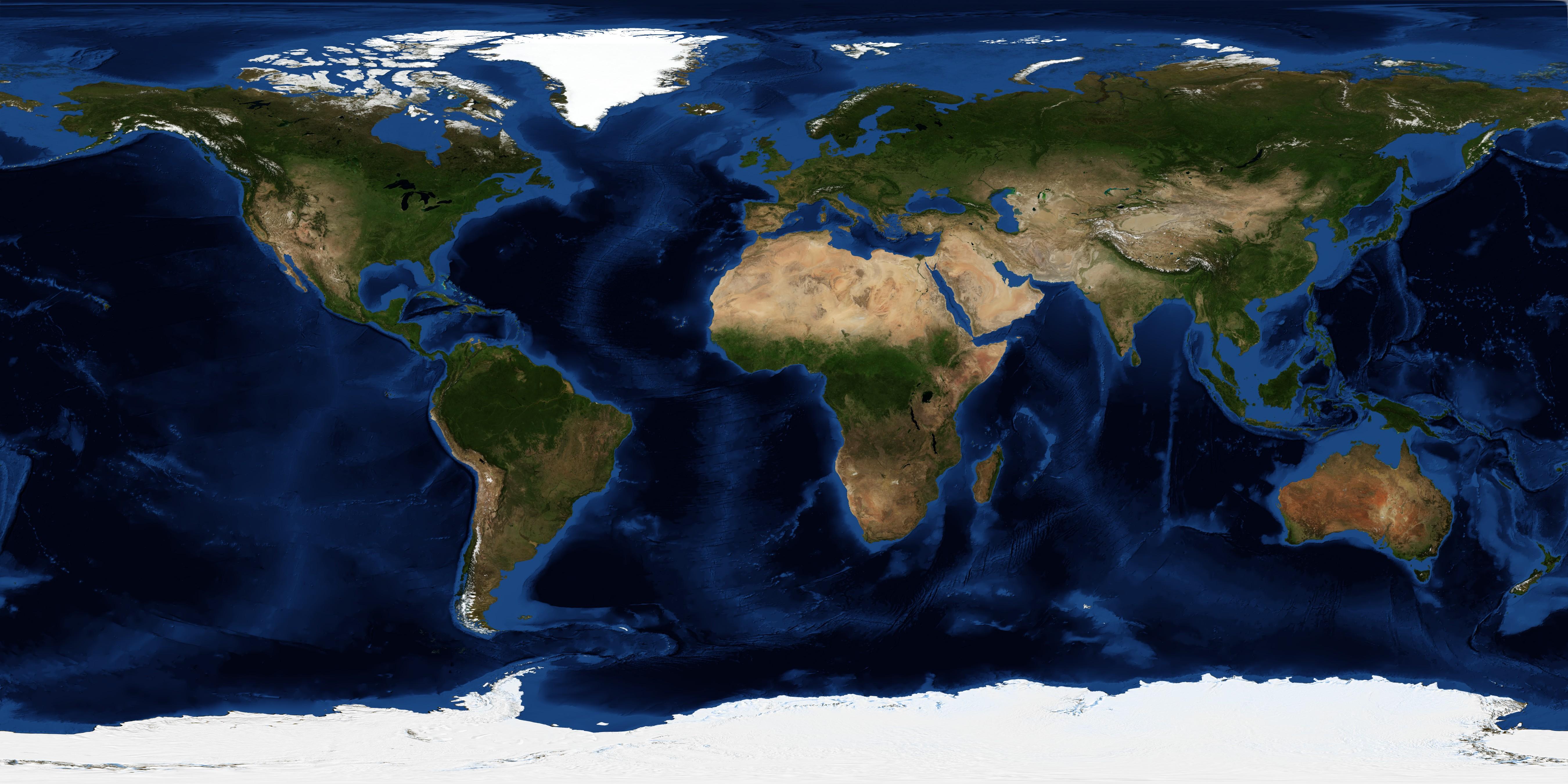 NASA Visible Earth: July, Blue Marble Next Generation w ...