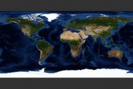 July, Blue Marble Next Generation w/ Topography and Bathymetry
