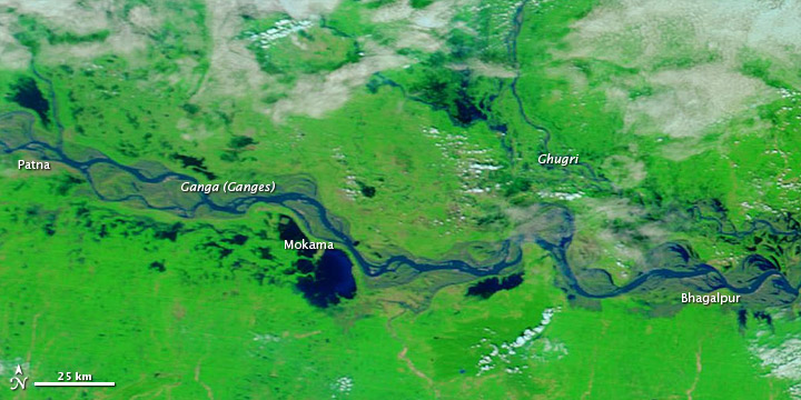 Flooding in Northern India