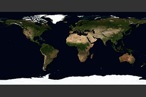 August, Blue Marble Next Generation - selected child image