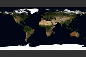 September, Blue Marble Next Generation - selected image