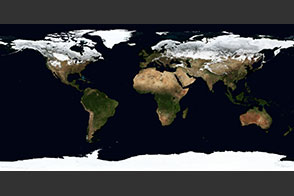 February, Blue Marble Next Generation w/ Topography - selected image