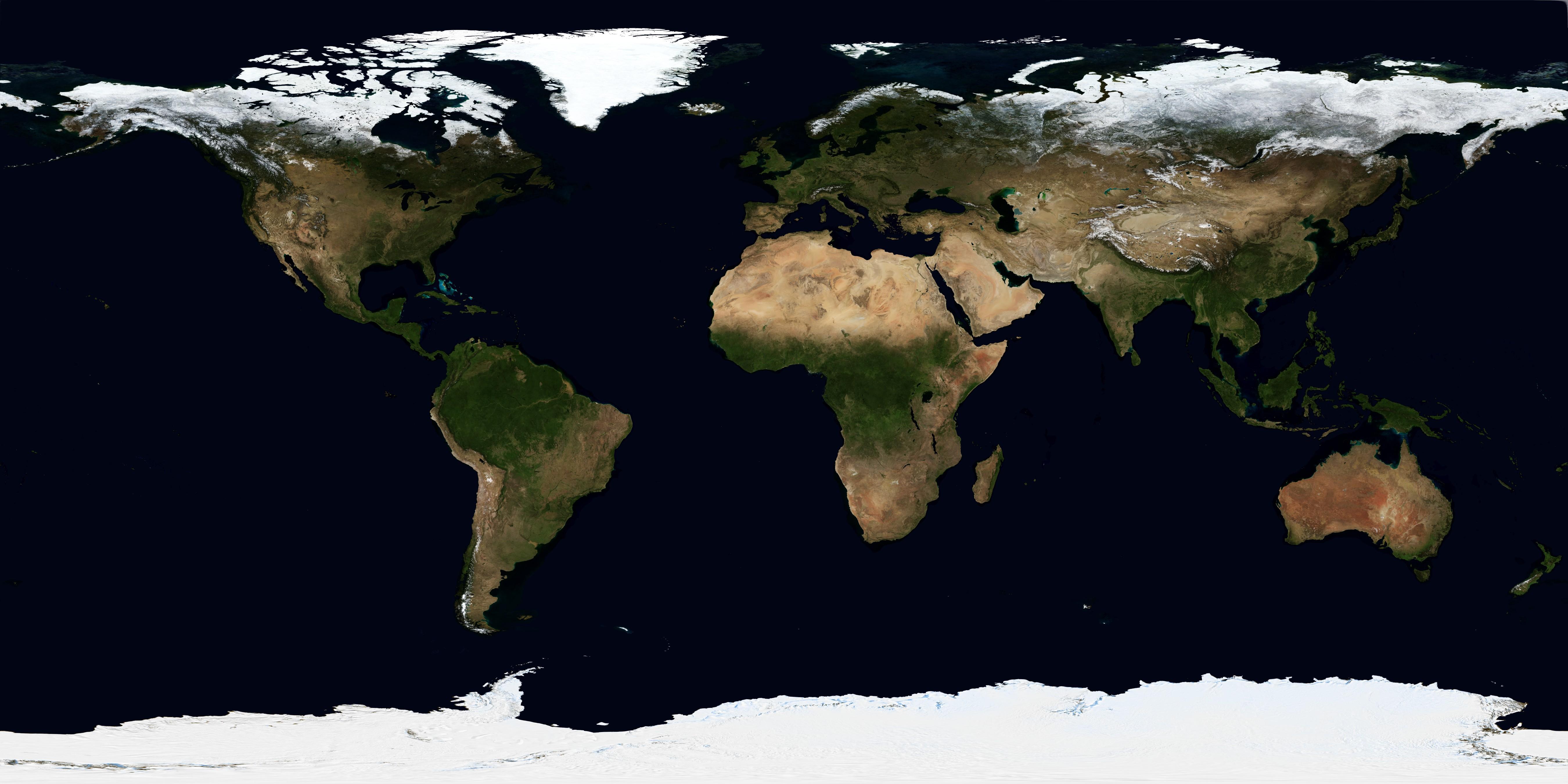 NASA Visible Earth: October, Blue Marble Next Generation w