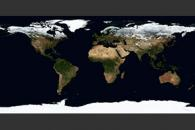 November, Blue Marble Next Generation w/ Topography