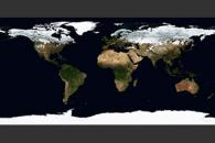 December, Blue Marble Next Generation w/ Topography
