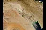 Dust storms in Iraq