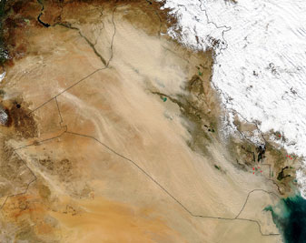 Dust storm in Iraq - related image preview