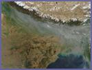 Haze across Northern India - selected image