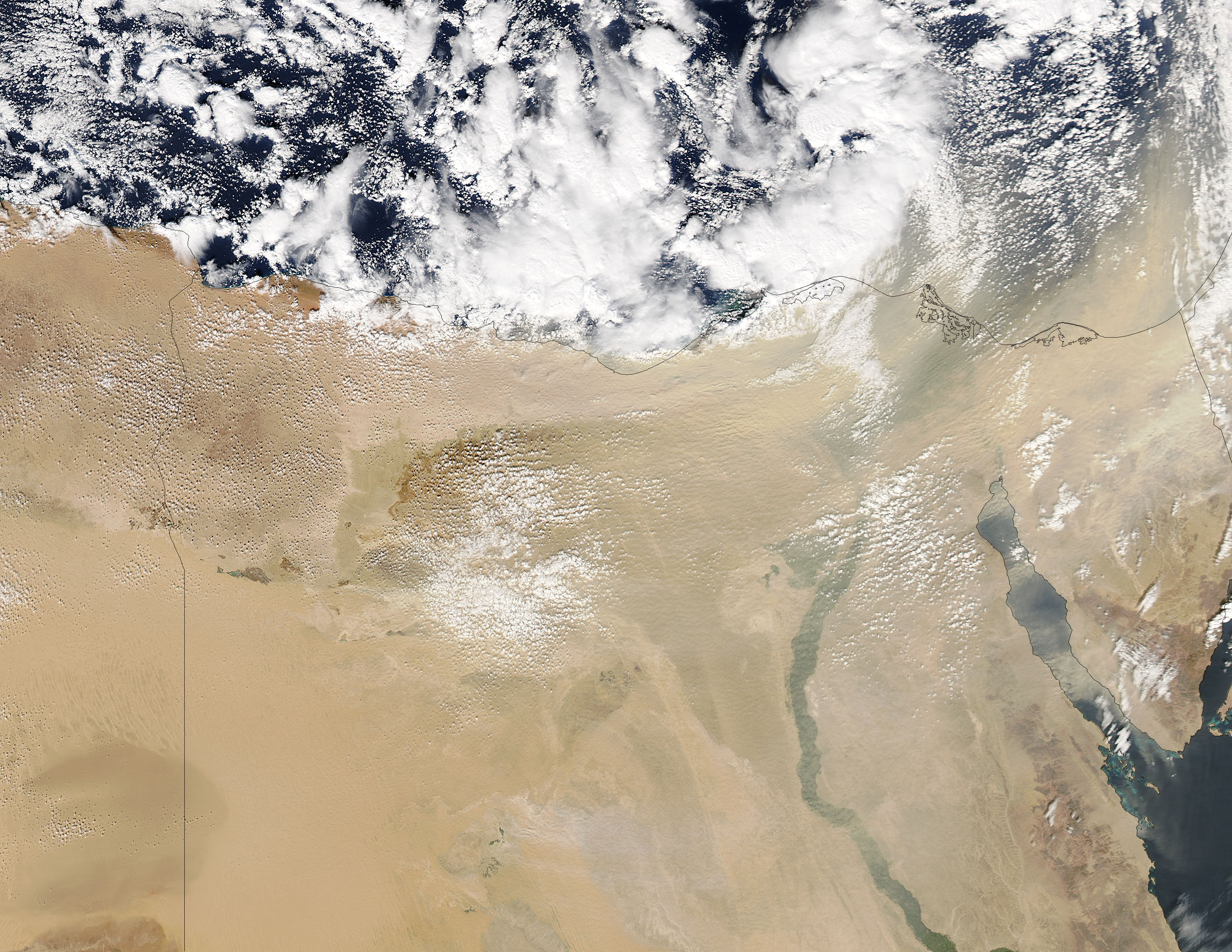 Dust storm in Egypt - related image preview