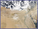 Dust storm in Egypt - selected image
