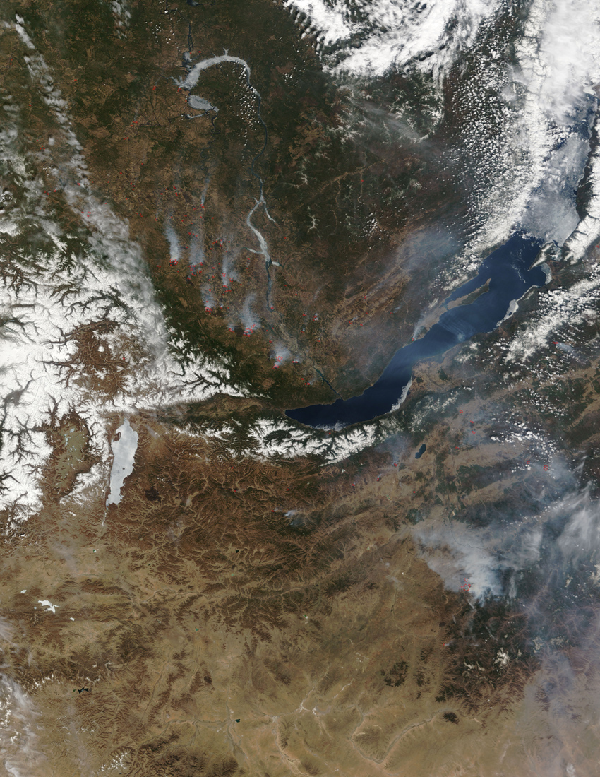 Fires Near Lake Baikal - related image preview