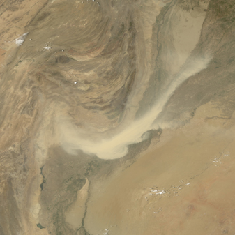 Dust Storm over Pakistan - related image preview
