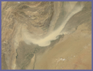 Dust Storm over Pakistan - selected image