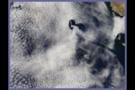 Vortex Street and Glory off Guadalupe Island, Mexico