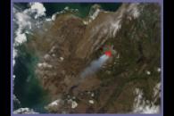 Negeethluk River Fire in southwestern Alaska