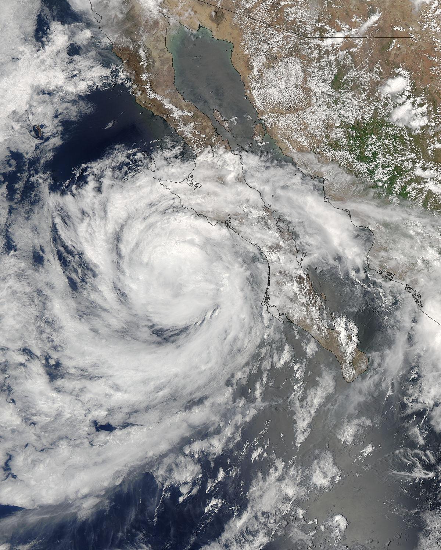 Tropical Storm Emilia off Baja California - related image preview