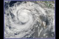 Tropical Storm Emilia off Baja California
