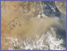 Dust Storm over the Red Sea - selected image
