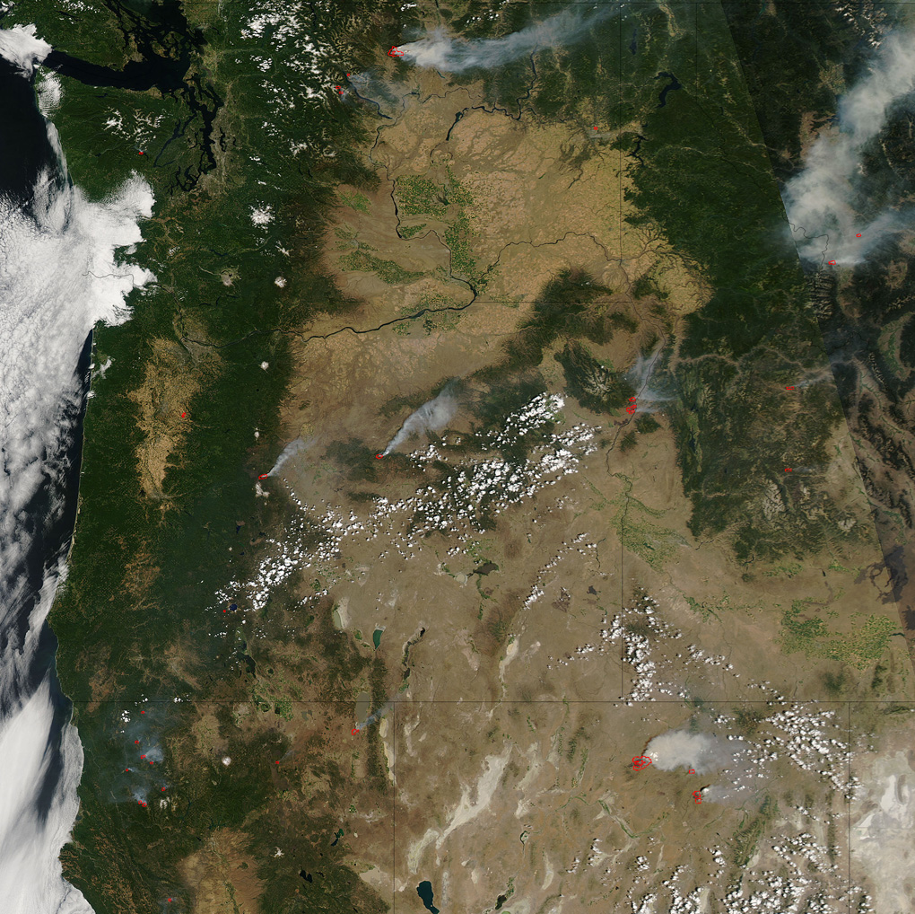 Fires in the Western United States - related image preview