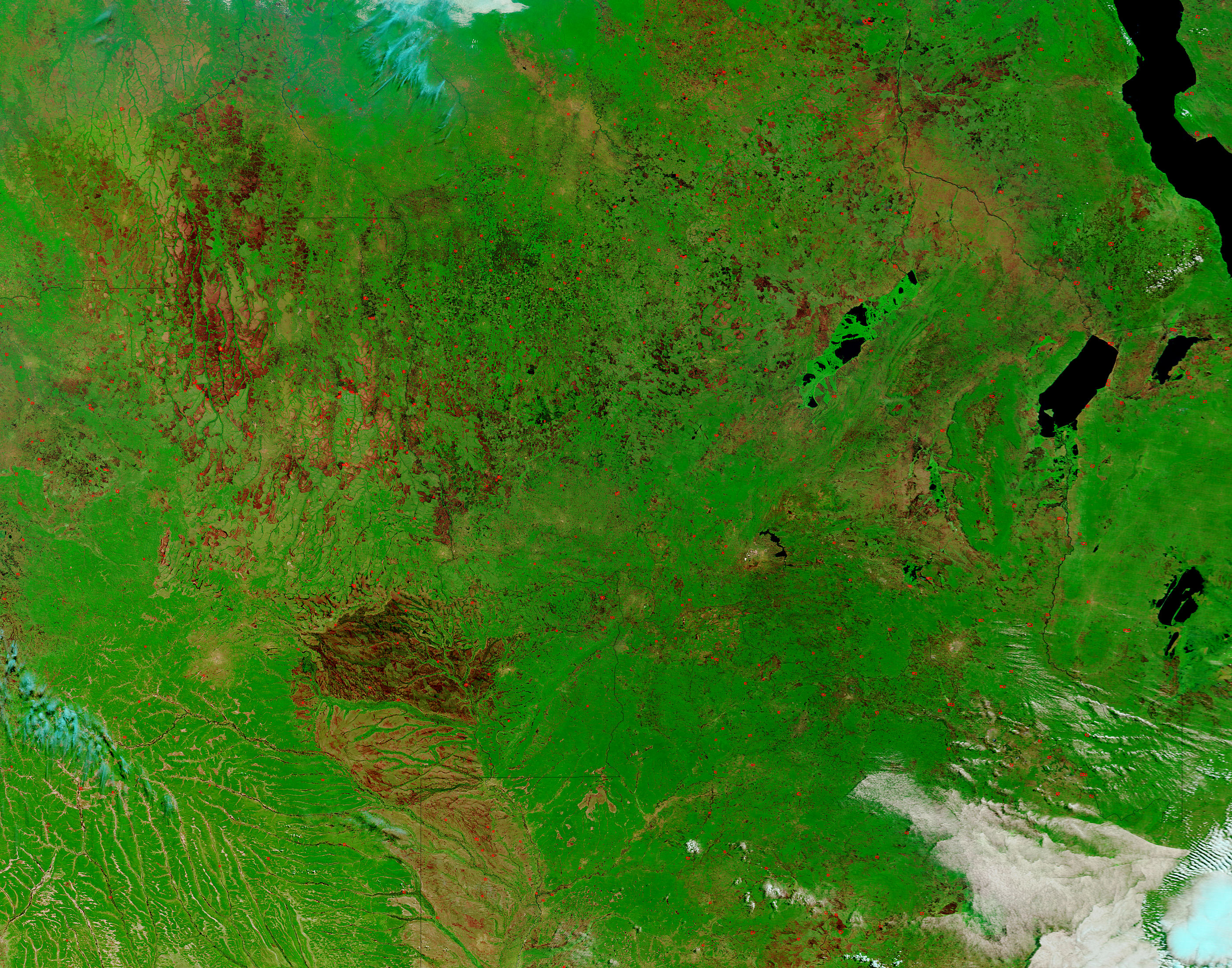 Burn Scars in Central Africa - related image preview