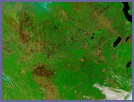 Burn Scars in Central Africa - selected image