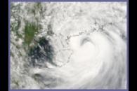 Typhoon Prapiroon over China