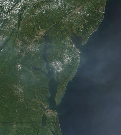 Haze over the Eastern United States - related image preview