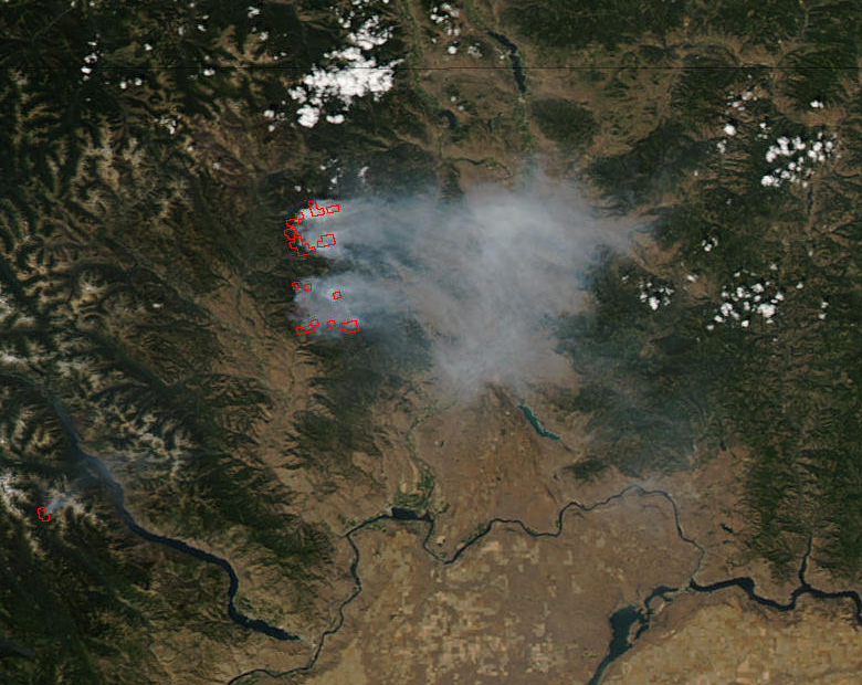 Fires in Northern Washington - related image preview