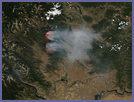 Fires in Northern Washington - selected image